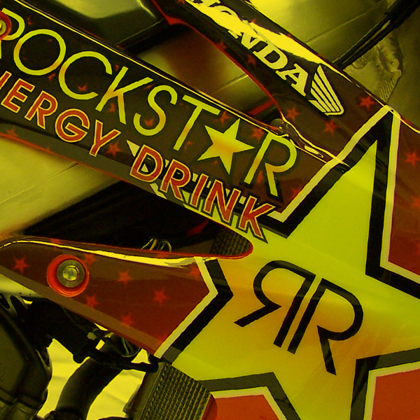 Rockstar Energy Drink Honda