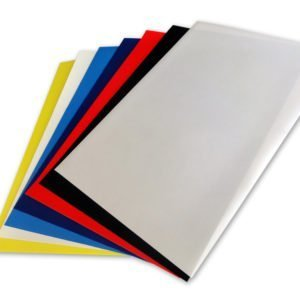 Thick Number Backing Sheets