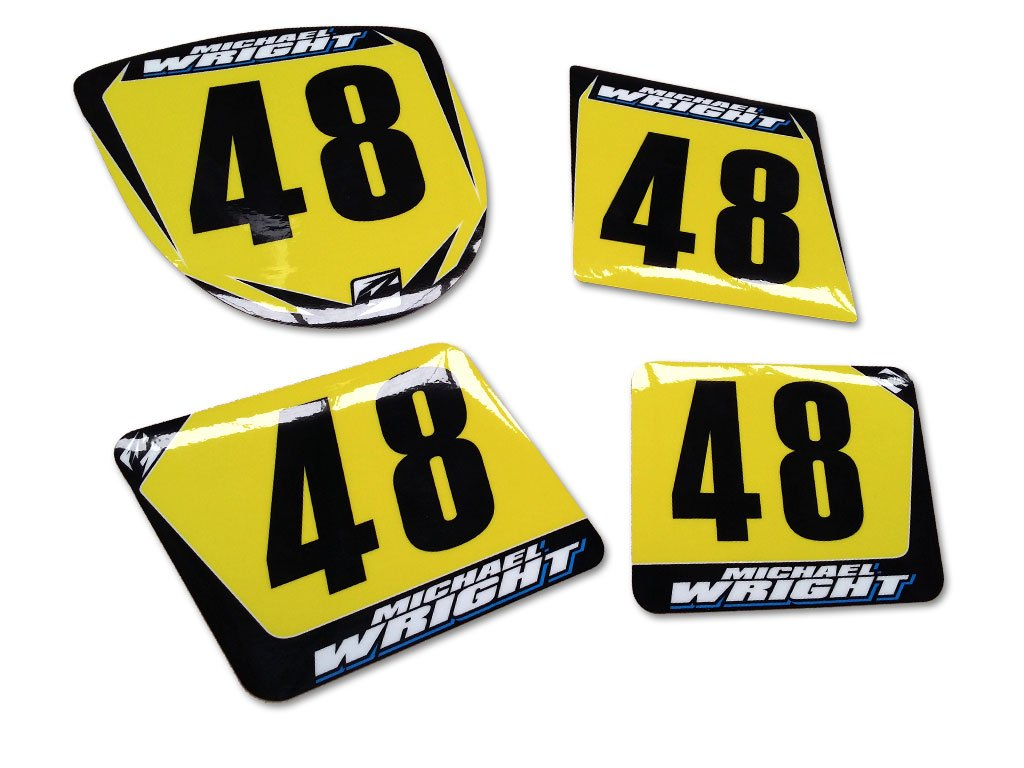Pre Designed Number Backgrounds