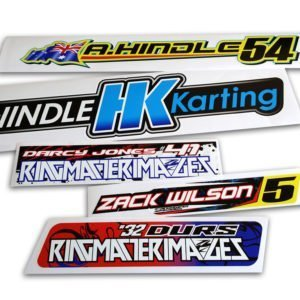 Vehicle & Trailer Stickers