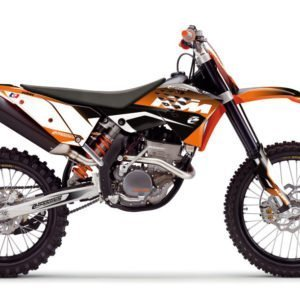 KTM Assault Series MX Graphics Kit