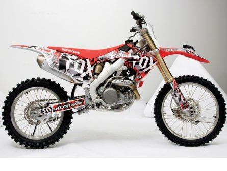 Fox Racing Custom MX Graphics Kit