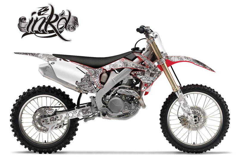 honda ink u0026 39 d series mx graphics kit