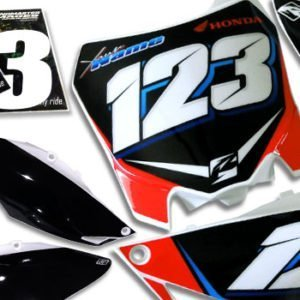MX Race Numbers & Products
