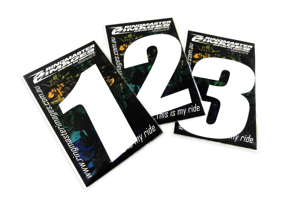 Pre Packed Mx Race Numbers Ringmaster Imagesringmaster