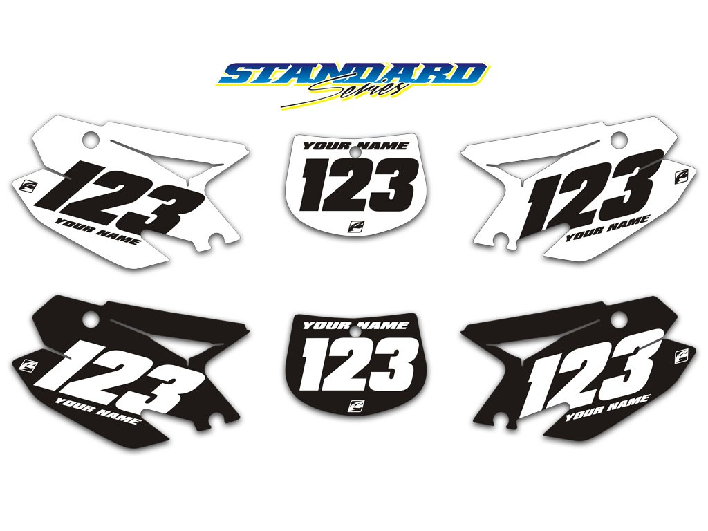 tm standard series number backgrounds