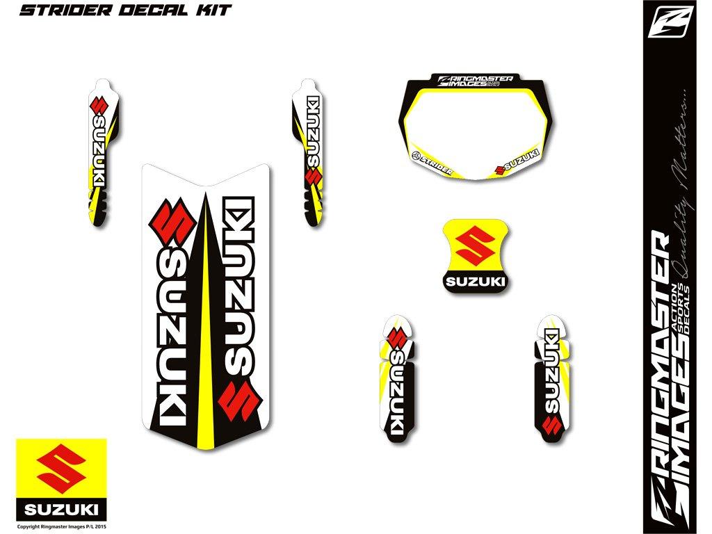 Sticker design in bike - Strider Balance Bike Sticker Kits