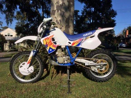 1995 Yamaha WR250Z Graphics Kit