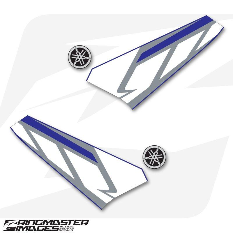 Number Plate Leather Keyring for Yamaha TTR250  NOS GB TTR 250 Reg