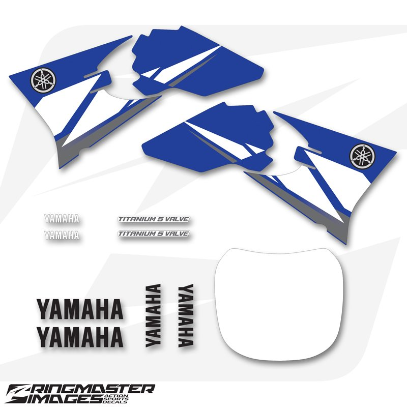 Yamaha yzf450 2003 oem replica stickers ringmaster for Yamaha replacement decals